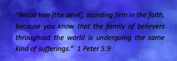 Blog - 1 Peter 5_9